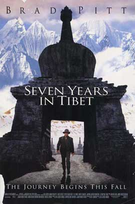 Seven Years in Tibet - 27 x 40 Movie Poster - Style B