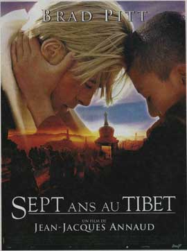 Seven Years in Tibet - 11 x 17 Movie Poster - French Style A