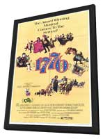 Seventeen Seventy-Six - 27 x 40 Movie Poster - Style A - in Deluxe Wood Frame