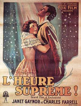 Seventh Heaven - 11 x 17 Movie Poster - French Style A