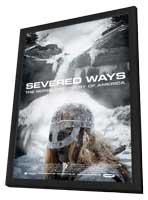 Severed Ways: The Norse Discovery of America - 11 x 17 Movie Poster - Style A - in Deluxe Wood Frame