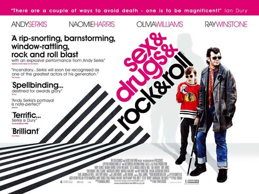 sex drugs rock and roll Amazoncom: sex & drugs & rock & roll: andy serkis, naomie harris, ray winstone, olivia williams, toby jones, mat whitecross: movies & tv.