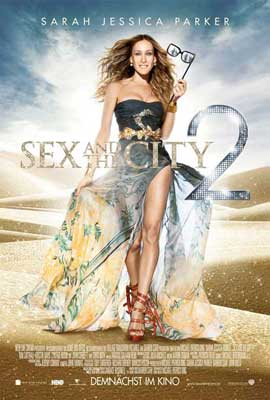 Sex and The City 2 - 11 x 17 Movie Poster - German Style A