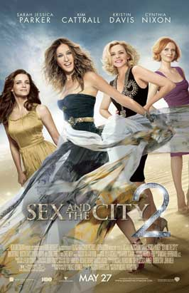 Sex and The City 2 - 11 x 17 Movie Poster - Style D