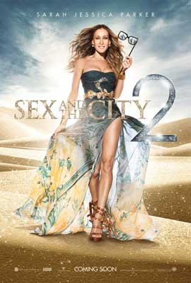 Sex and The City 2 - 11 x 17 Movie Poster - UK Style A
