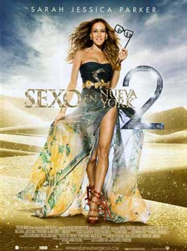Sex and The City 2 - 27 x 40 Movie Poster - Belgian Style B