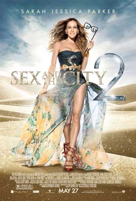 Sex and The City 2 - 11 x 17 Movie Poster - Style E