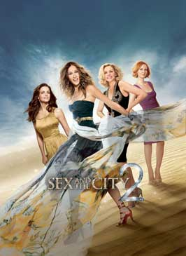 Sex and The City 2 - 27 x 40 Movie Poster - Style G