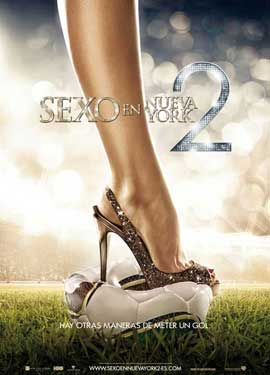 Sex and The City 2 - 11 x 17 Movie Poster - Spanish Style D