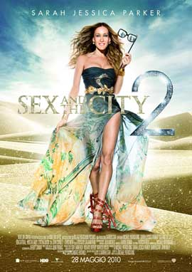 Sex and The City 2 - 11 x 17 Movie Poster - Italian Style A