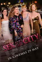 Sex and The City: The Movie - 27 x 40 Movie Poster - Style C