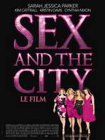 Sex and The City: The Movie - 27 x 40 Movie Poster - French Style A