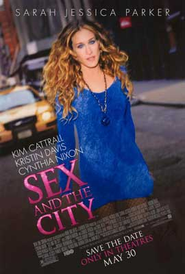 Sex and The City: The Movie - 27 x 40 Movie Poster - Style B