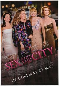 Sex and The City: The Movie - 43 x 62 Movie Poster - Bus Shelter Style C