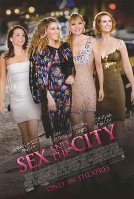 Sex and The City: The Movie - 11 x 17 Movie Poster - Style D