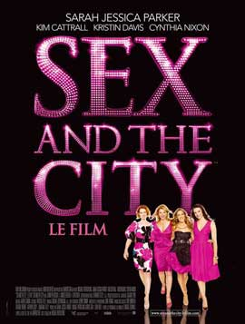 Sex and The City: The Movie - 11 x 17 Movie Poster - French Style A