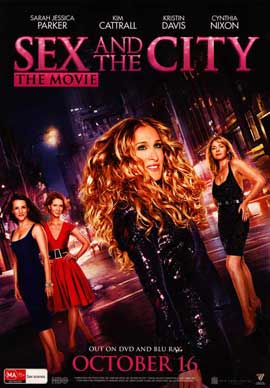 Sex and The City: The Movie - 11 x 17 Movie Poster - Australian Style E
