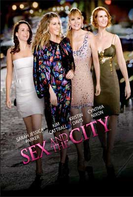Sex and The City: The Movie - 27 x 40 Movie Poster - Danish Style C