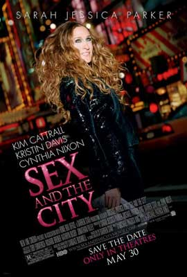 Sex and The City: The Movie - 27 x 40 Movie Poster - Style E