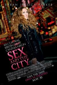 Sex and The City: The Movie - 43 x 62 Movie Poster - Bus Shelter Style D