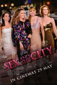 Sex and The City: The Movie - 11 x 17 Movie Poster - Style A - Double Sided