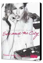 Sex and the City (TV) - 27 x 40 TV Poster - Style D - Museum Wrapped Canvas