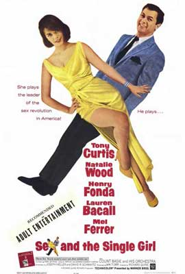 Sex and the Single Girl - 27 x 40 Movie Poster - Style A