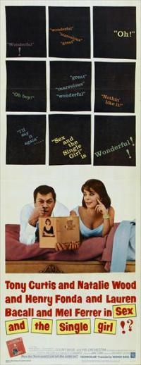 Sex and the Single Girl - 14 x 36 Movie Poster - Insert Style A