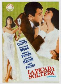 Sex and the Single Girl - 11 x 17 Movie Poster - Spanish Style A
