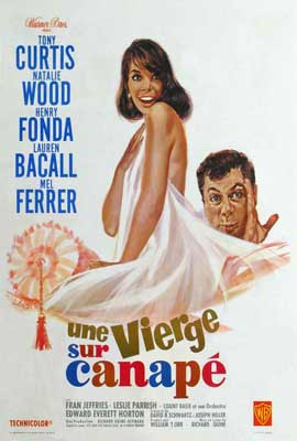 Sex and the Single Girl - 27 x 40 Movie Poster - French Style A