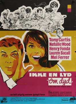 Sex and the Single Girl - 11 x 17 Movie Poster - Danish Style A