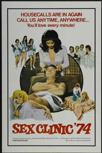 Sex Clinic 74 - 43 x 62 Movie Poster - Bus Shelter Style A