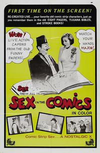 Sex in the Comics - 11 x 17 Movie Poster - Style A