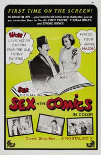 Sex in the Comics - 43 x 62 Movie Poster - Bus Shelter Style A