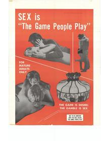 Sex is the Game People Play - 27 x 40 Movie Poster - Style A