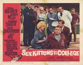 Sex Kittens Go to College - 11 x 14 Movie Poster - Style H