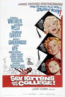 Sex Kittens Go to College - 27 x 40 Movie Poster - Style A