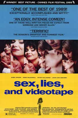 Sex, Lies and Videotape - 11 x 17 Movie Poster - Style A