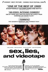 Sex, Lies and Videotape - 11 x 17 Movie Poster - Style B