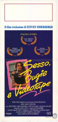 Sex, Lies and Videotape - 11 x 17 Movie Poster - Italian Style A