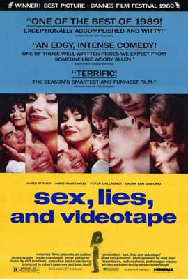 Sex, Lies and Videotape - 27 x 40 Movie Poster - Style A