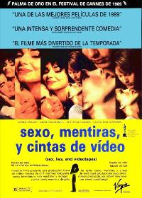 Sex, Lies and Videotape - 11 x 17 Movie Poster - Spanish Style A