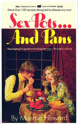 Sex Pots and Pans - 11 x 17 Retro Book Cover Poster