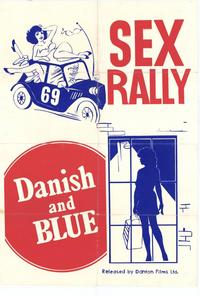 Sex Rally/Danish and Blue - 11 x 17 Movie Poster - Style A