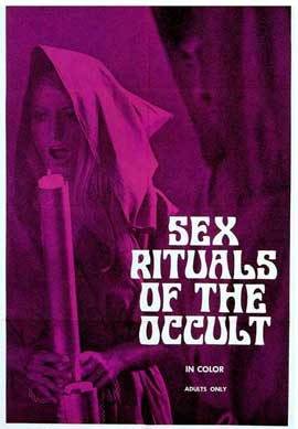 Sex Rituals of the Occult - 11 x 17 Movie Poster - Style A