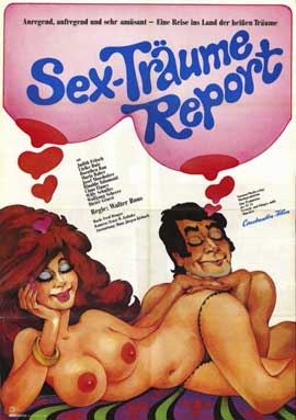 Sex-Traume Report - 11 x 17 Movie Poster - German Style A