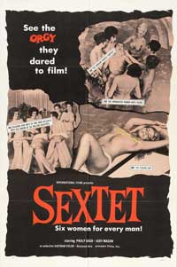 Sextet - 11 x 17 Movie Poster - Style A