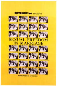 Sexual Freedom In Marriage - 27 x 40 Movie Poster - Style A