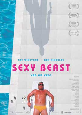Sexy Beast - 27 x 40 Movie Poster - German Style A