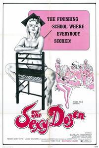 Sexy Dozen - 11 x 17 Movie Poster - Style B